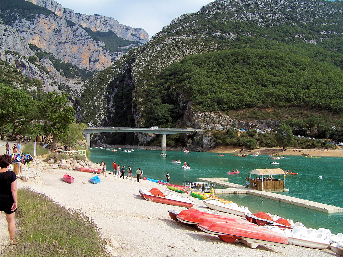 Lake sainte croix for Camping verdon piscine