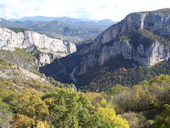 Les gorges depuis le Point Sublime